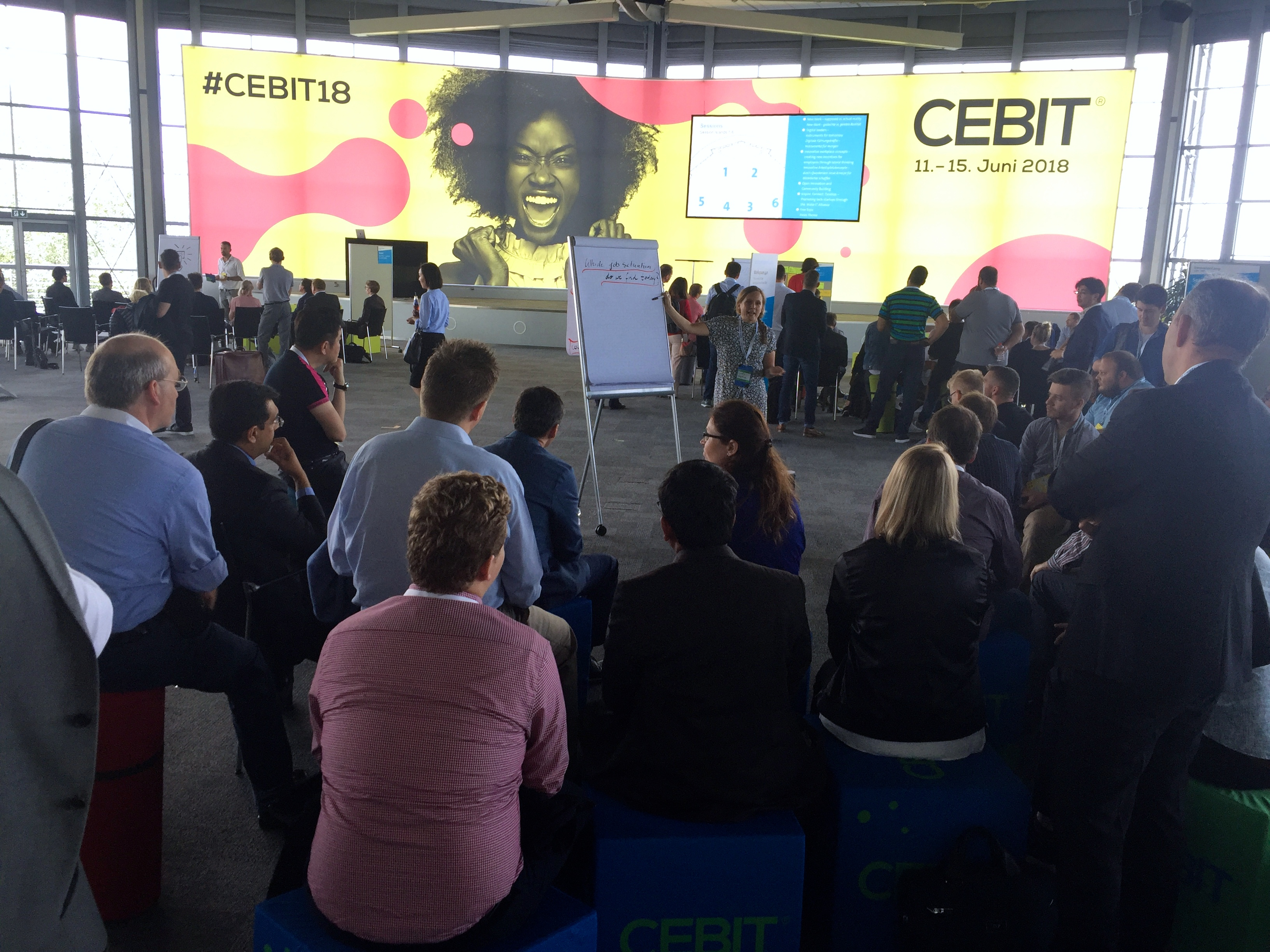 Impressionen von der CEBIT 2018*/ Impressions from CEBIT 2018